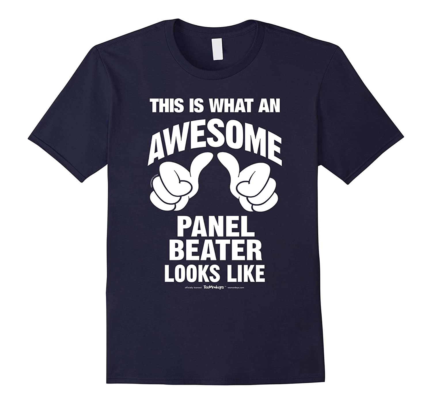 This Is What An Awesome Panel Beater Looks Like T-Shirt-Vaci