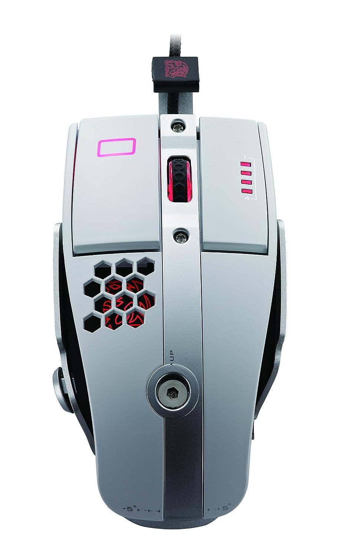 【ラッピング不可】 THERMALTAKE MO-LTM009DTJ Level 10 M Mouse B00BF74T72 ホワイト BMWデザインのゲーミングマウス TTeSports THERMALTAKE 日本正規代理店品 MS166 MO-LTM009DTJ B00BF74T72, ZERO:8a8dda0f --- diceanalytics.pk