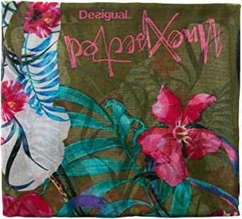 Desigual womens Rectangle Foulard