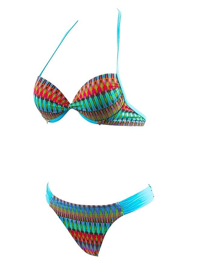 Lolita Angels Azul Traje de Baño Dos Piezas Balconnet Playa Link ...