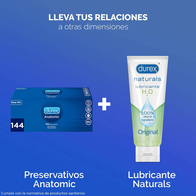 Durex Preservativos Anatomic Originales Naturales Natural Comfort - Pack 144 Condones: Amazon.es: Alimentación y bebidas