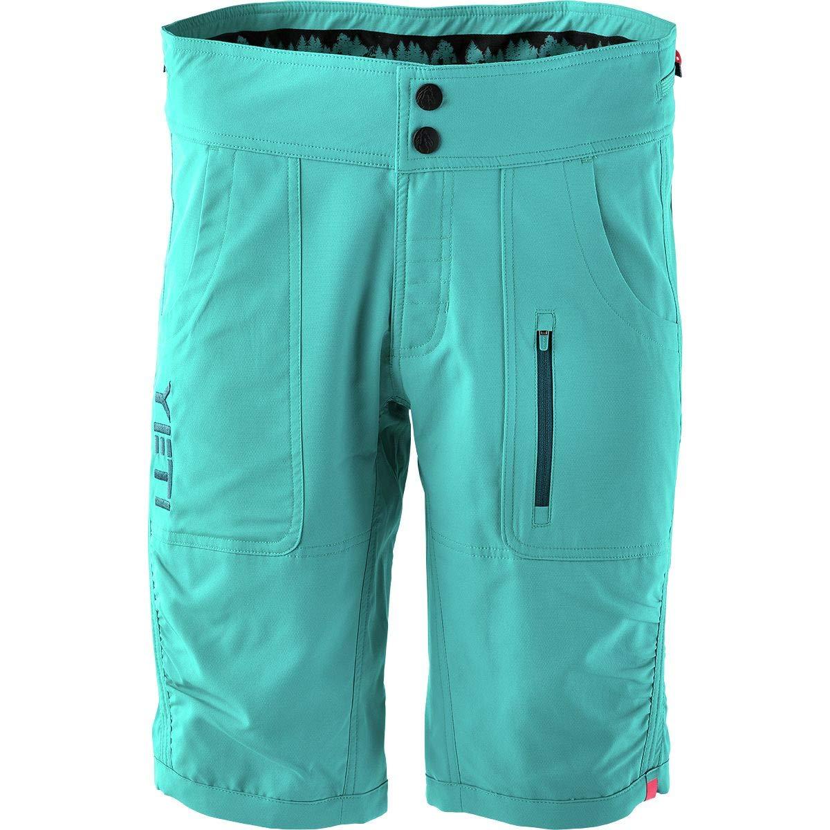 (イエティサイクル) Yeti Cycles Norrie Short レディース サイクルショーツ&ビブTurquoise [並行輸入品] 日本サイズ L相当 (US M) Turquoise B07GP3X3DT