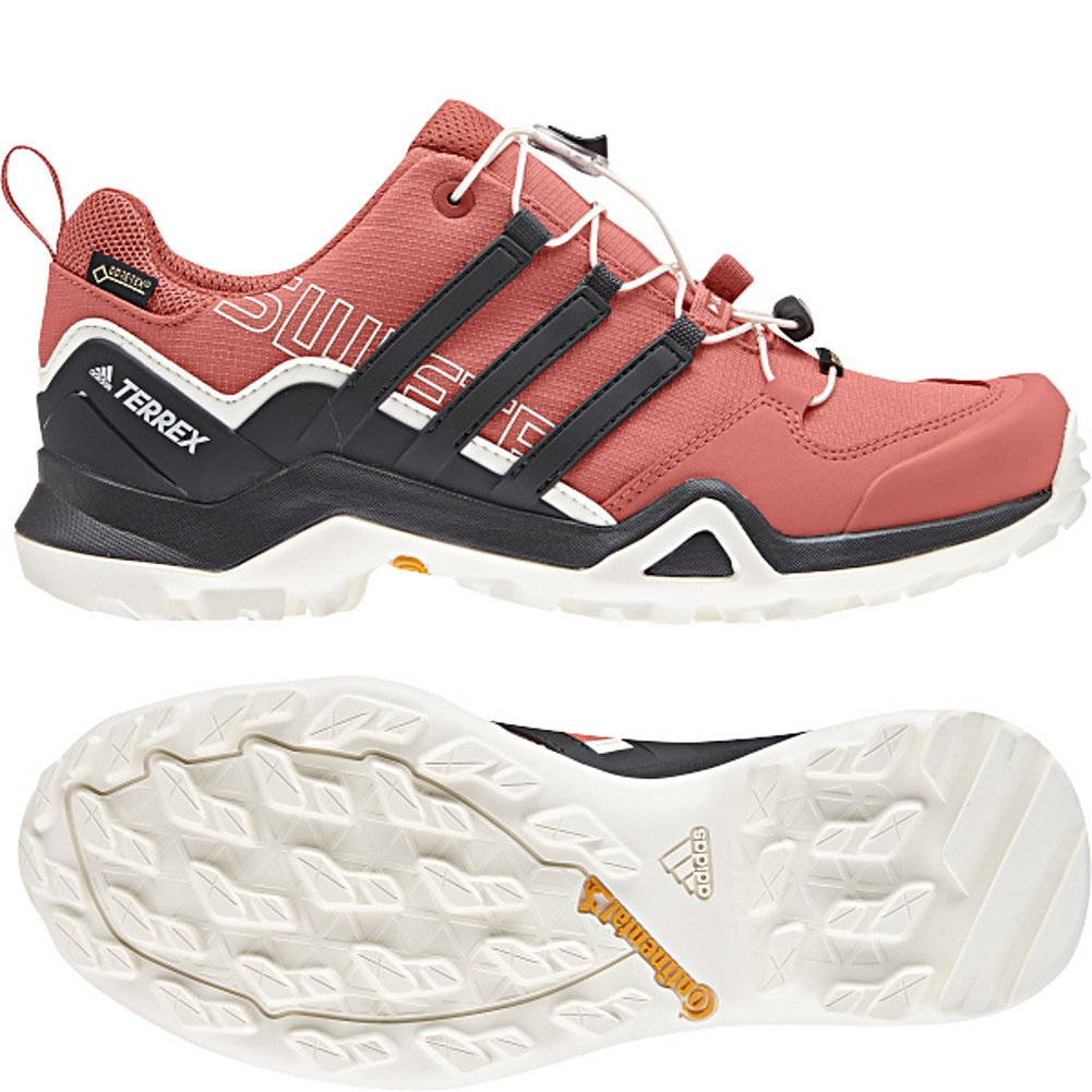 Adidas Outdoor Women's Terrex Swift R2 GTX Hiking Shoe B072Y2MNF3 11 B(M) US|Trace Scarlet/Carbon/Chalk White