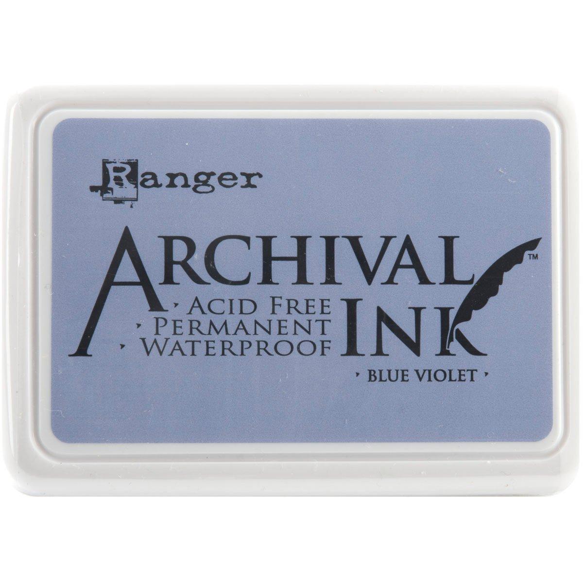 Archival Ink Pad #0-Blue Violet (並行輸入品) B004W91B4Y