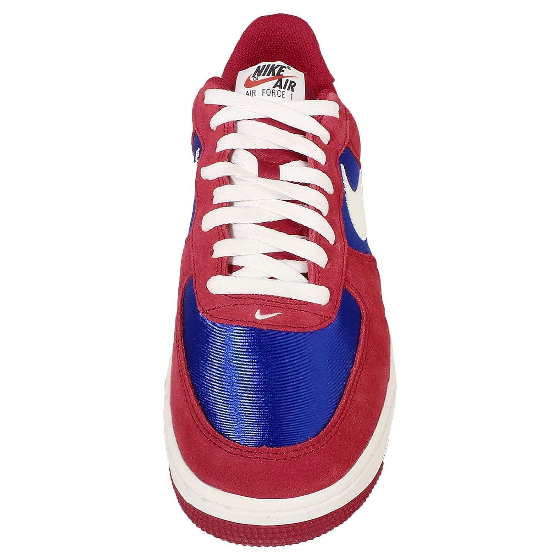 Nike Air Force 1 Blå Og Rød LfRs3wkG8a