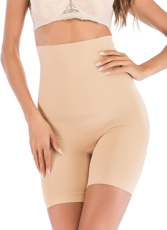 Tummy Control Body Shaper Seamless Thigh Slimming Boyshort Breathable Slip Shapewear for Women