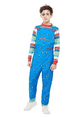 Smiffys 82005S - Disfraz de Chucky con licencia oficial para niños ...