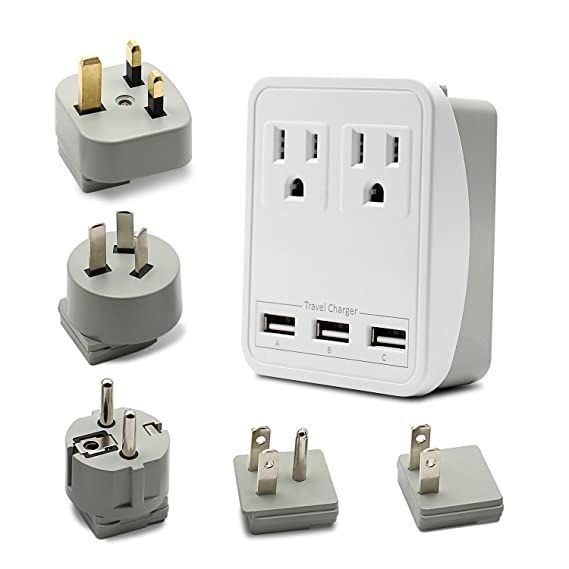 Review Universal Travel Adapter Charger