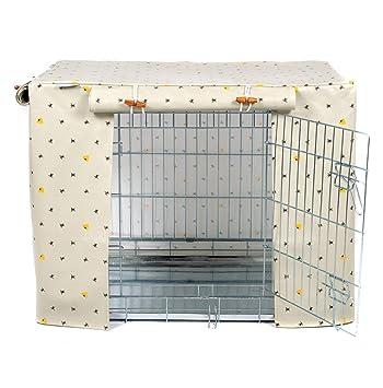 Funda para Caja de Perro de Tela de Tela de L&L Parks para ...