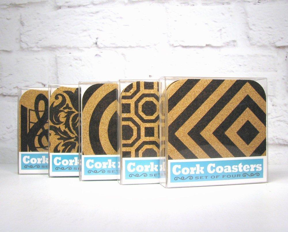 South Carolina State Gift Souvenir 4pc Cork Coaster Set