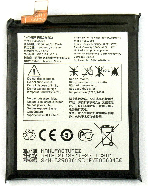 Todobarato24h BATERIA Compatible con Alcatel 3 OT 5052D, One Touch 3 Dual Sim, Alcatel 5 (5086D), Alcatel 3L (5034) 2900mAh Tlp029D1: Amazon.es: Electrónica