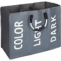 DOKEHOM Laundry Bag, Large Foldable Laundry Basket, Collapisable Laundry Hamper, Folding Washing Storage Bin, Available in 3 Colors