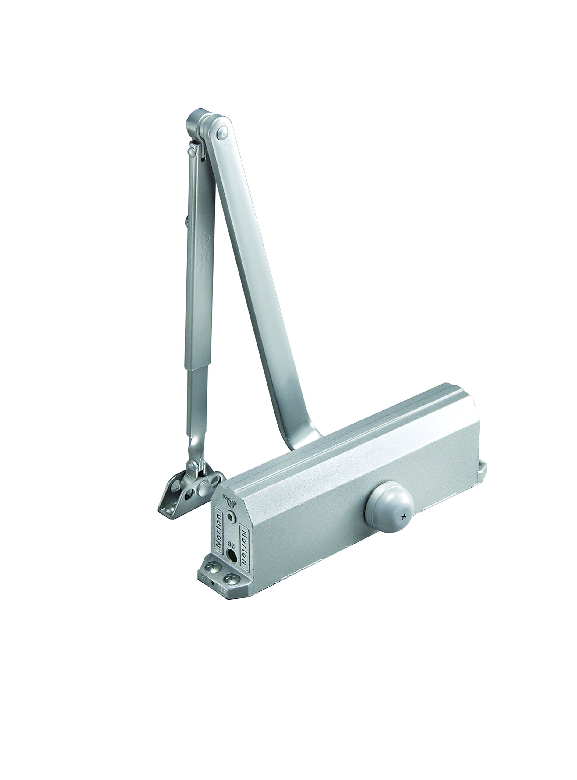 Norton Door Controls 1603BC x 689 1600 Series Door Closer, Cast Aluminum Body, Size 3, Aluminum Finish