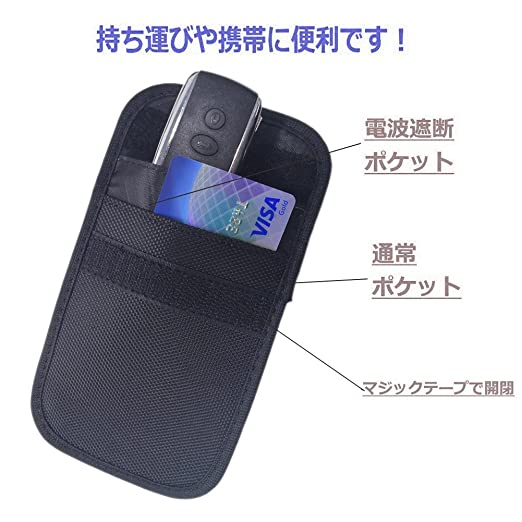 Amazon | スマートキー 電波遮断...
