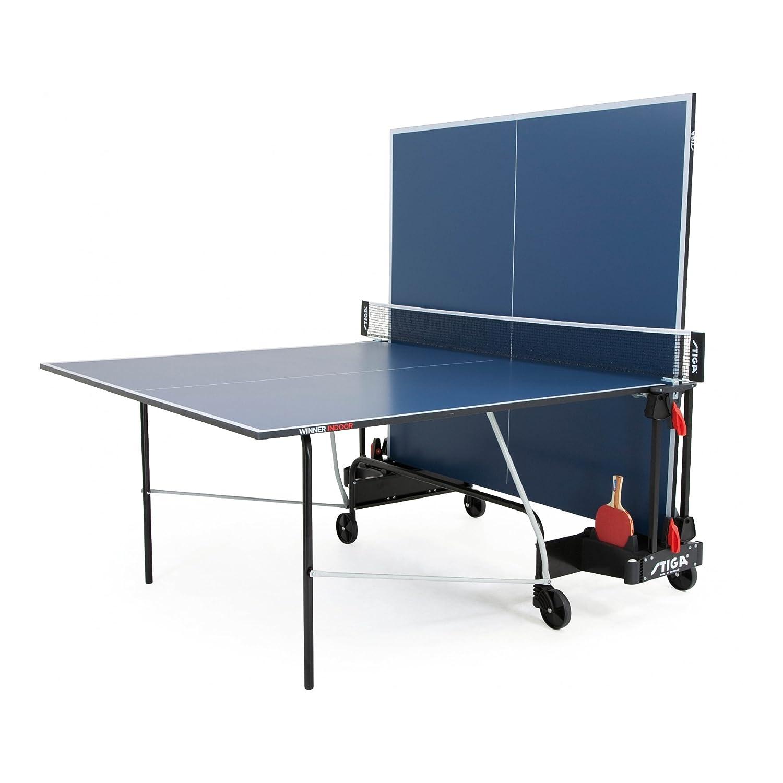 Stiga /Mesa de Ping Pong de Interior Ganador 220.3010//st Azul