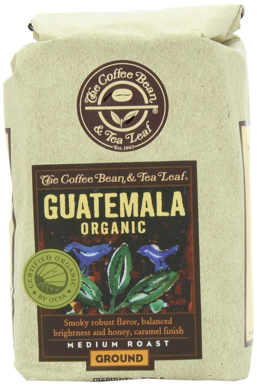 Coffee organic tea - Amazon Com The Coffee Bean Tea Leaf Hand Roasted Guatemala Organic Ground Coffee Medium Roast 12 Ounce Bags Pack Of 2 Coffee Bean From Guatemala
