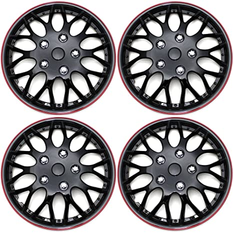 Hubcaps 16 inch Wheel Covers - (Set of 4) Hub Caps for 16in Wheels