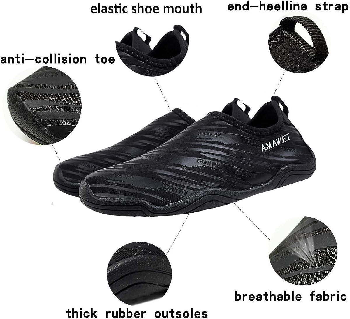 /¡/ VAMV Water Shoes for Kids Boys Girls Beach Swim Shoes Slip On Aqua Sock 2 M US Big Kid, 05Pink34
