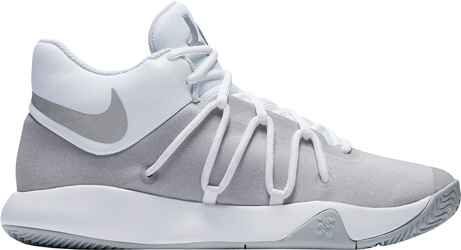 NIKE Men's KD Trey 5 V Basketball Shoes B01N0RERY9 14 M US|White/Grey