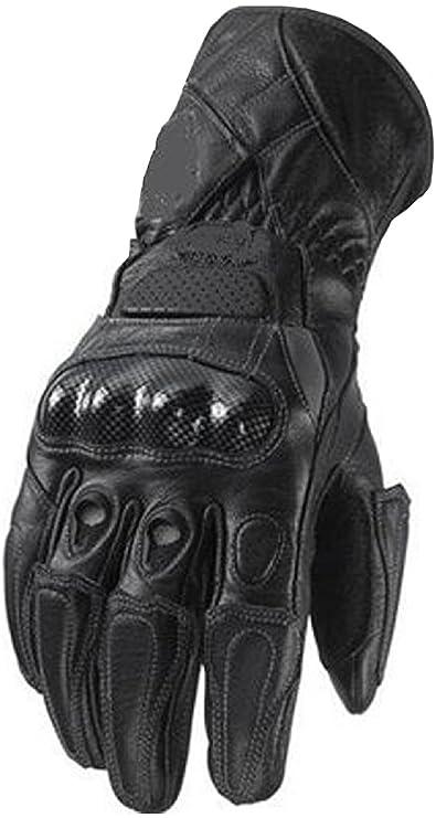 Heavy Duty moto de la motocicleta guantes de cuero piel de vaca