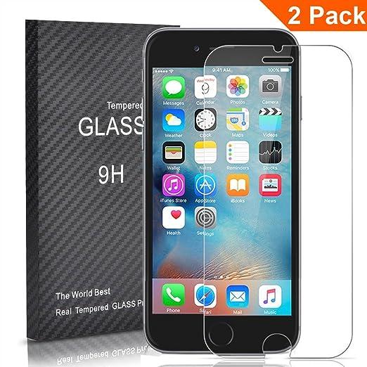 12 opinioni per 2 Pack- Outera Proteggi schermo per iPhone 6s -Protezione dello schermo in vetro