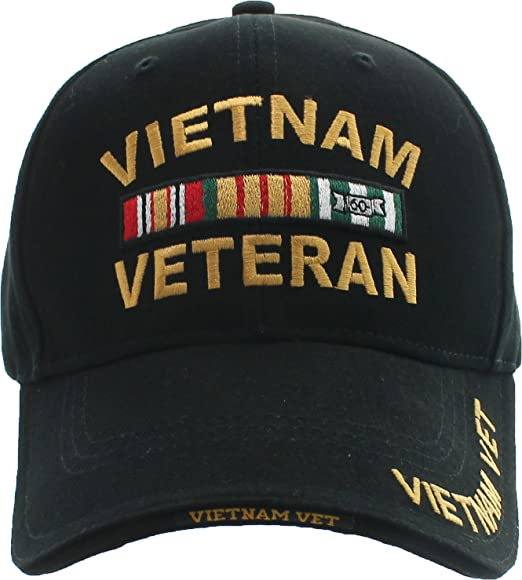 dc906423a15 Amazon.com  Black Vietnam Veteran Ribbon Military Army Vet ...