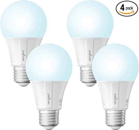Sengled Smart Led Daylight A19 Light Bulb Hub Required 5000k 60w Equivalent Compatible With Alexa Google Assistant Smartthings 4 Pack
