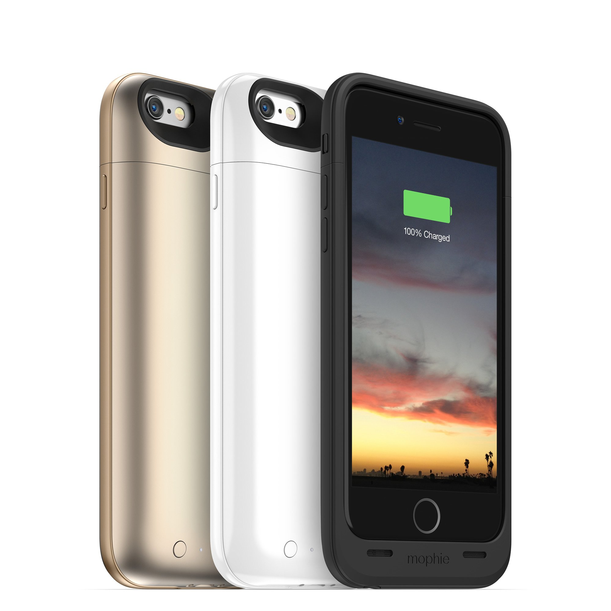 mophie juice pack air - Slim Protective Mobile Battery Pack Case for iPhone 6/6s - Black by mophie (Image #7)