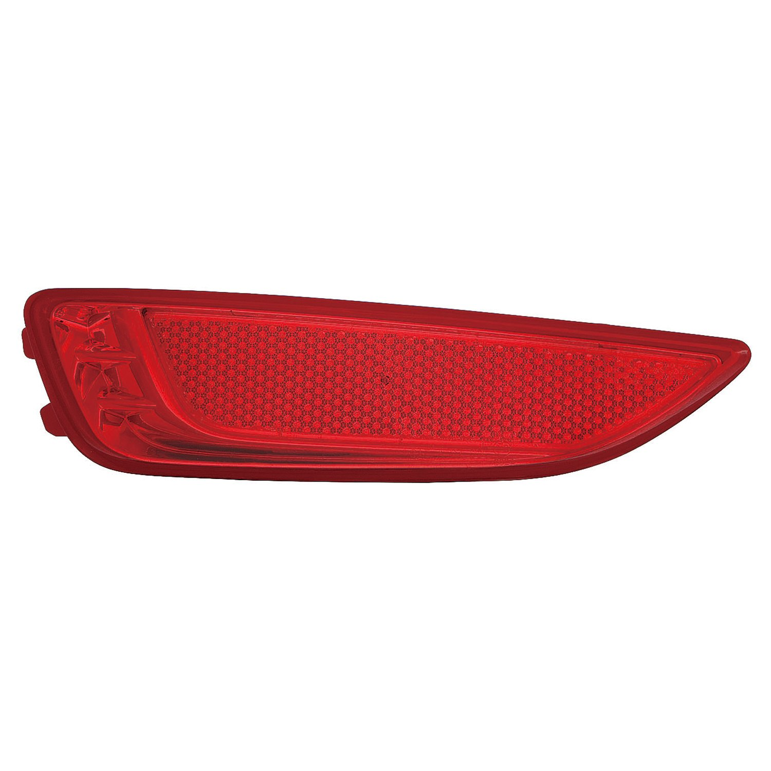 OE Replacement 2012-2016 HYUNDAI ACCENT/_HATCHBACK Bumper Reflector Partslink Number HY1184104 Multiple Manufacturers HY1184104C