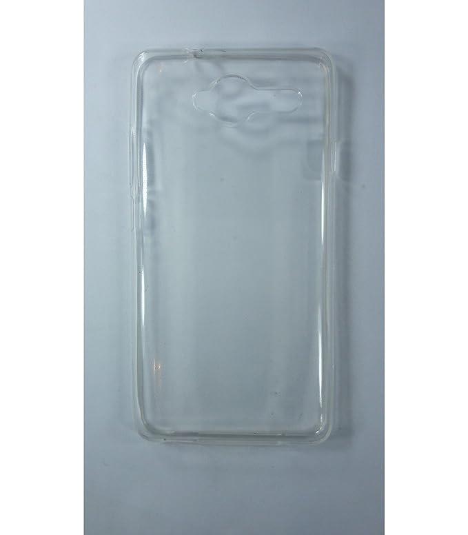 Funda de gel TPU carcasa protectora silicona para ZTE Blade L3 Transparente