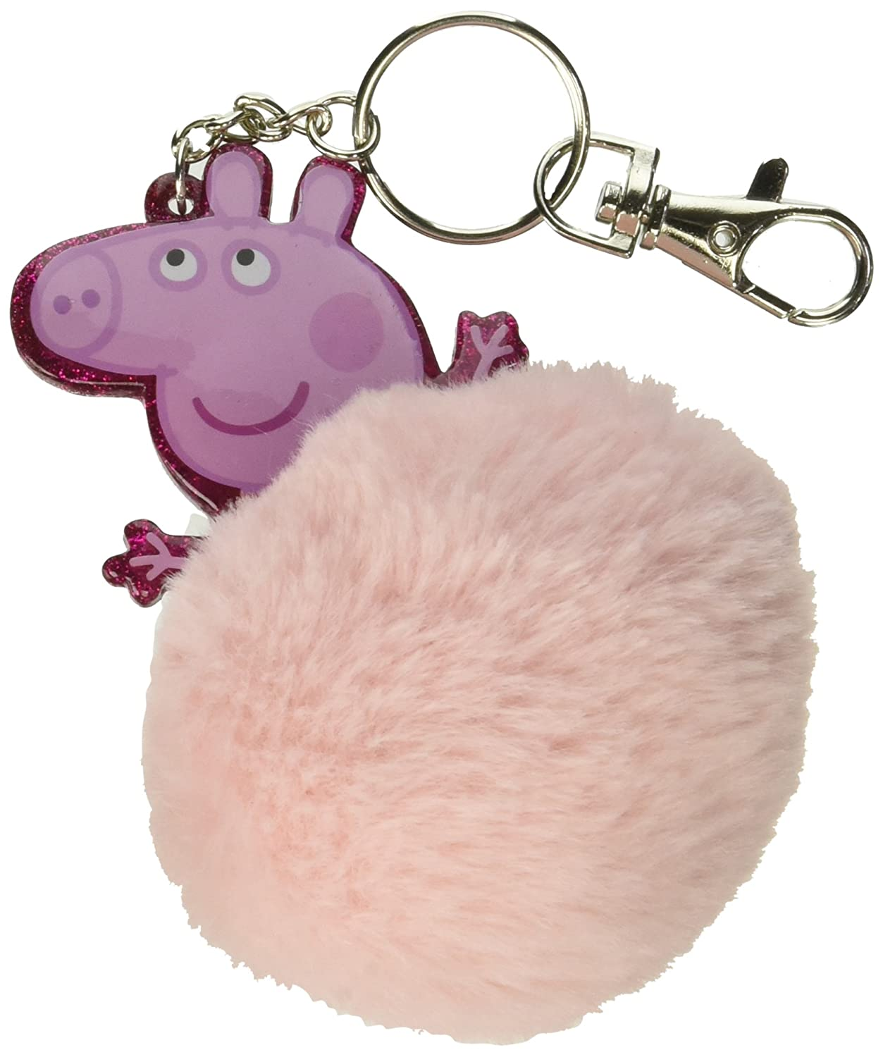 Licensed Party Favors Peppa Pig Rosa Piel bola llavero ...