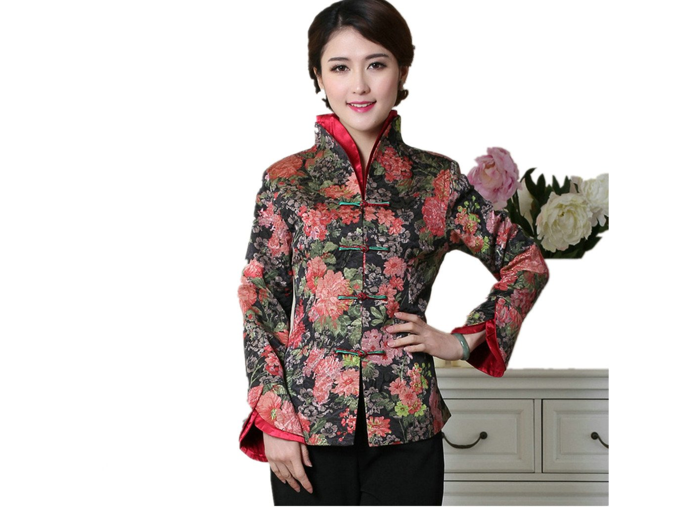 Womens Tang Suits Chinese Jackets Formal Dress Womens Jackets Business Jackets