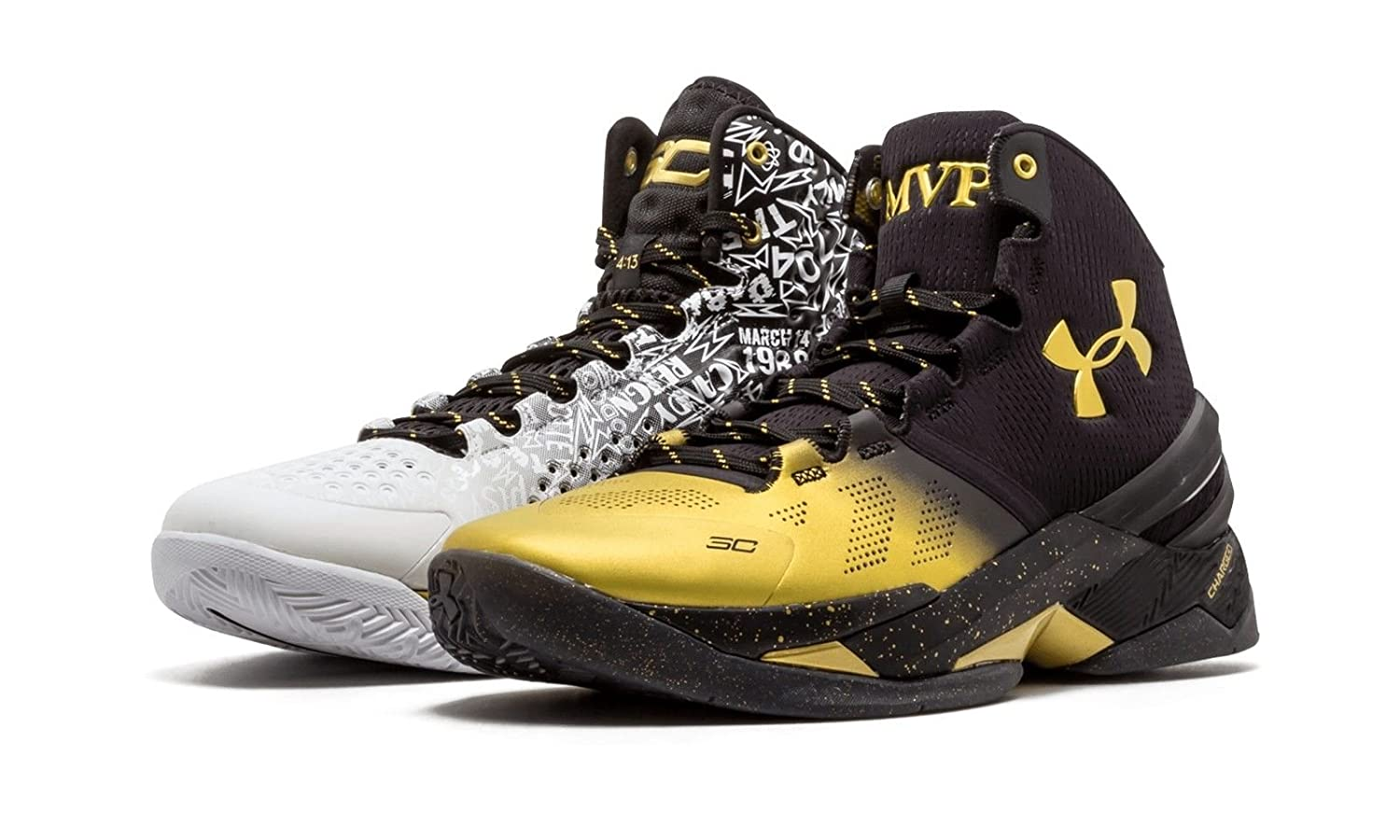 best sneakers 55336 ef793 Under Armour Stephen Curry Back 2 Back MVP Pack 1300015-001 US Size 11.5   Amazon.co.uk  Shoes   Bags