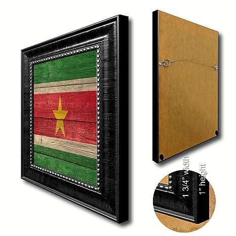 Amazon.de: Suriname Flagge Strukturierte National Country Souvenir ...