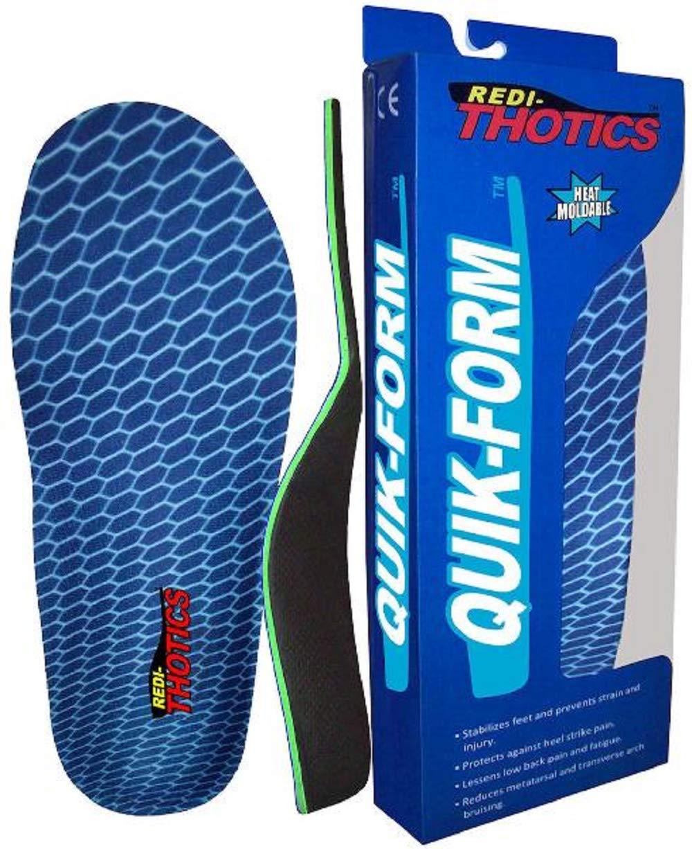 Redi-Thotics Quik-Form Heat Moldable Insoles (E - Men's 10-10.5 / Women's 11-11.5)