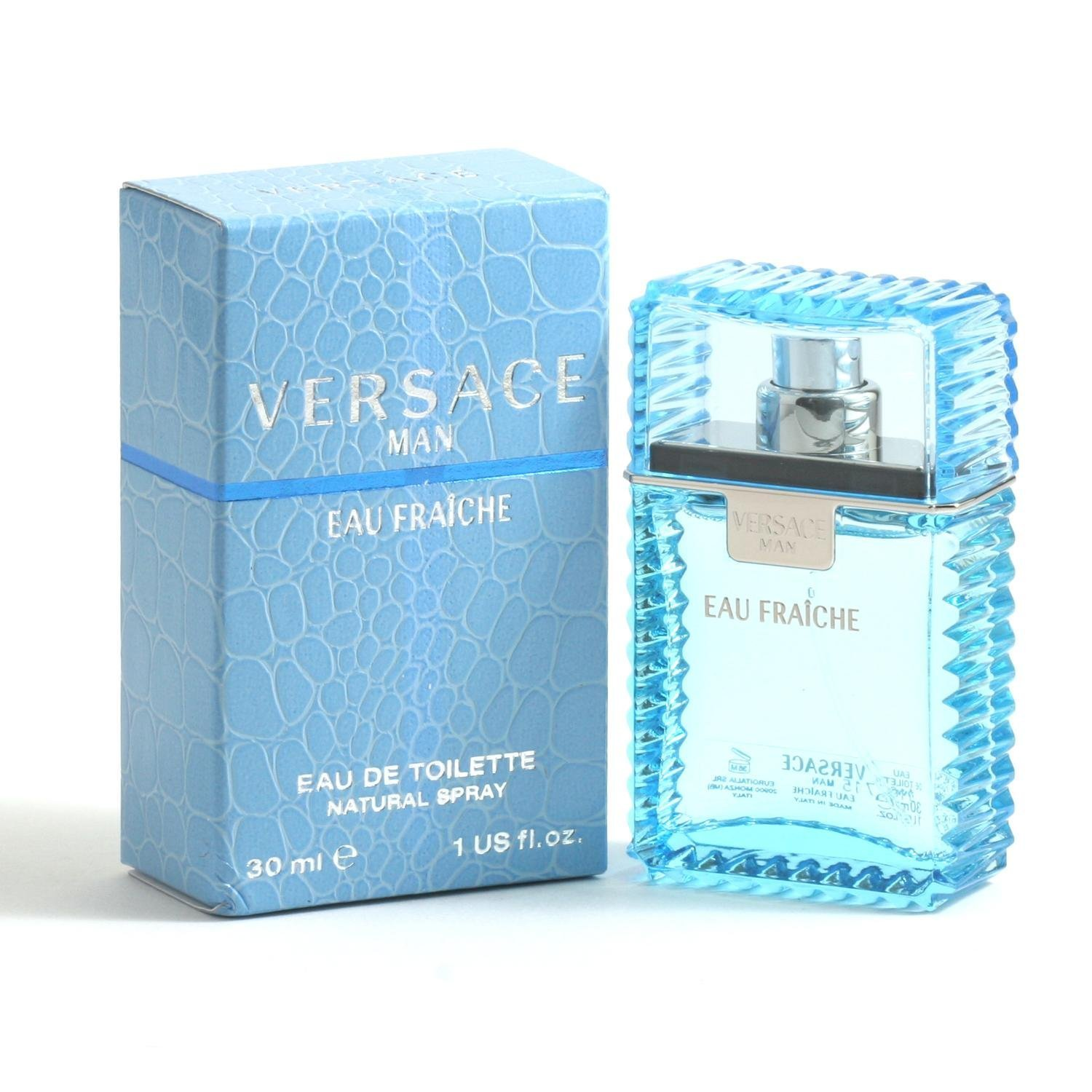 Versace Man Eau Fraiche For Men - 1Oz Edt Spray