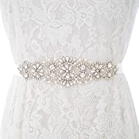 Ubright - Cinturón de boda con diamantes