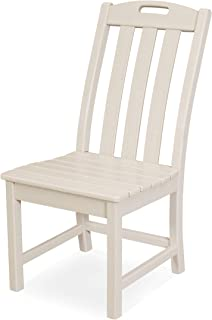 product image for Trex Outdoor Furniture Yacht Club Dining Chair, Sand Castle