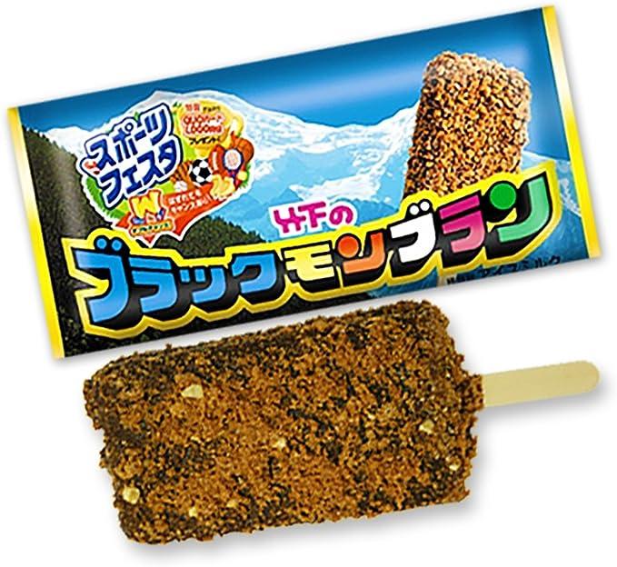 Amazon | 竹下製菓 ブラックモンブラン 109ml 30本入り | ブラックモンブラン | アイスクリーム 通販