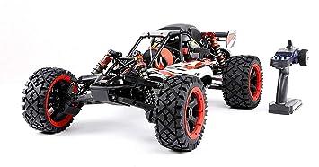 MZL Monster Truck Coche Remoto por Todo Terreno Muzili-1: 5 29cc Motor de