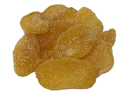 NUTS U.S. - Cortador de jengibre cristalizado seco en bolsa ...