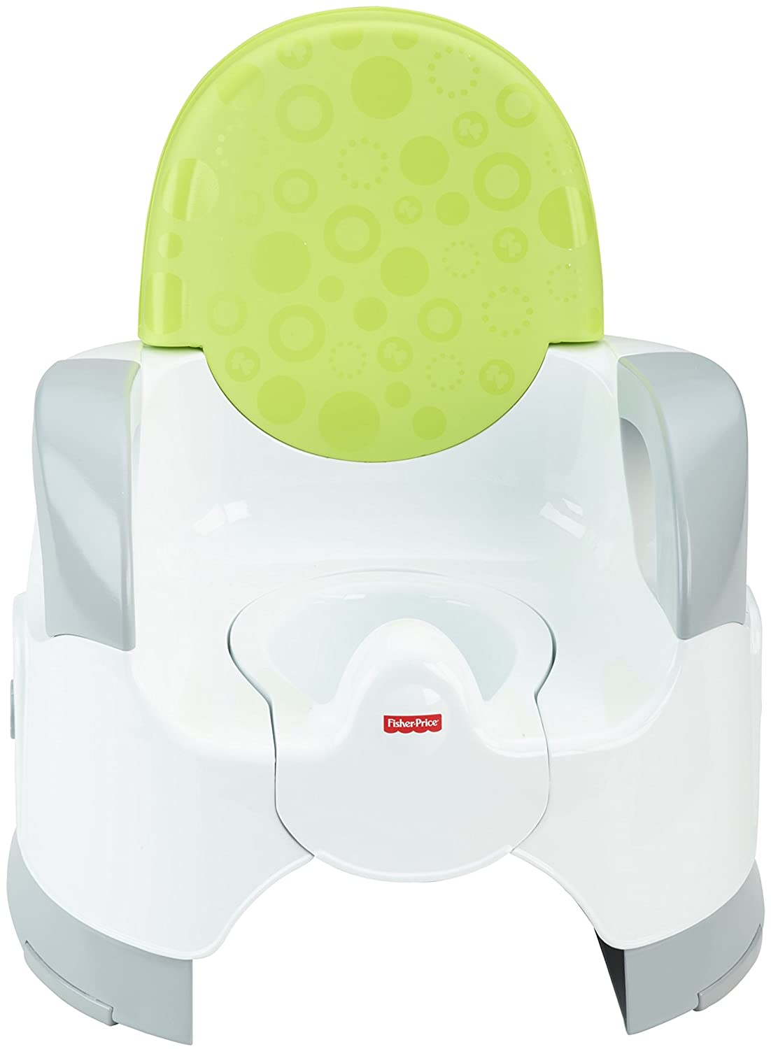 Fisher-Price Custom Comfort Potty Training Seat, green