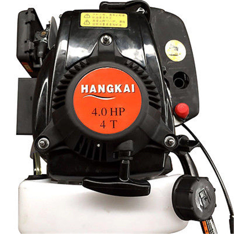 SENDERPICK 4 Stroke Motor fueraborda Barco de Motor Motor 4 HP 52CC Sistema de enfriamiento de Aire Bote Inflable