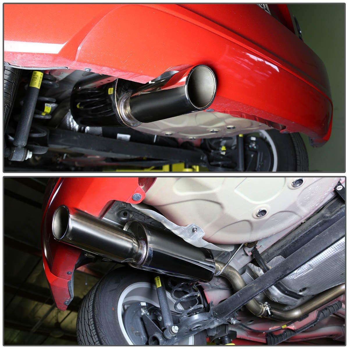 DNA MOTORING CBE-CS12-NRT Double Walled CBECS12NRT Stainless Steel Catback Exhaust System