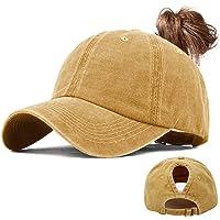 UMIPUBO Gorras de Beisbol Deportes Unisex Clásica Sombra de Sol Hat Verano Washed Cap Ajustable Algodón Sombrero Gorras…