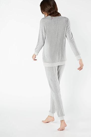 Intimissimi Pijama de manga larga para mujer: Amazon.es: Ropa
