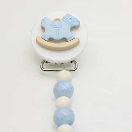 Cristal sueño elegante azul y blanco de color perla hecho a ...