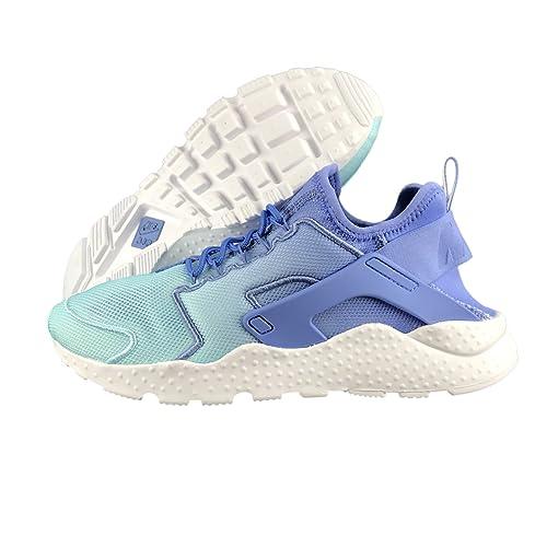 footwear cheapest multiple colors NIKE Women's Air Huarache Run Ultra Breathe Polar/Still Blue/White ...