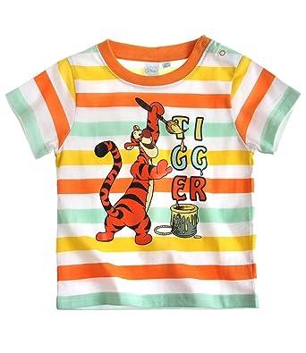 e581f897802d1 Disney Tigger Short Sleeve T-Shirt orange (24 month): Amazon.co.uk: Clothing
