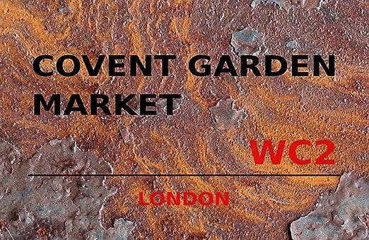 generisch Cartel de Chapa 20 x 30 cm Covent Garden Market ...